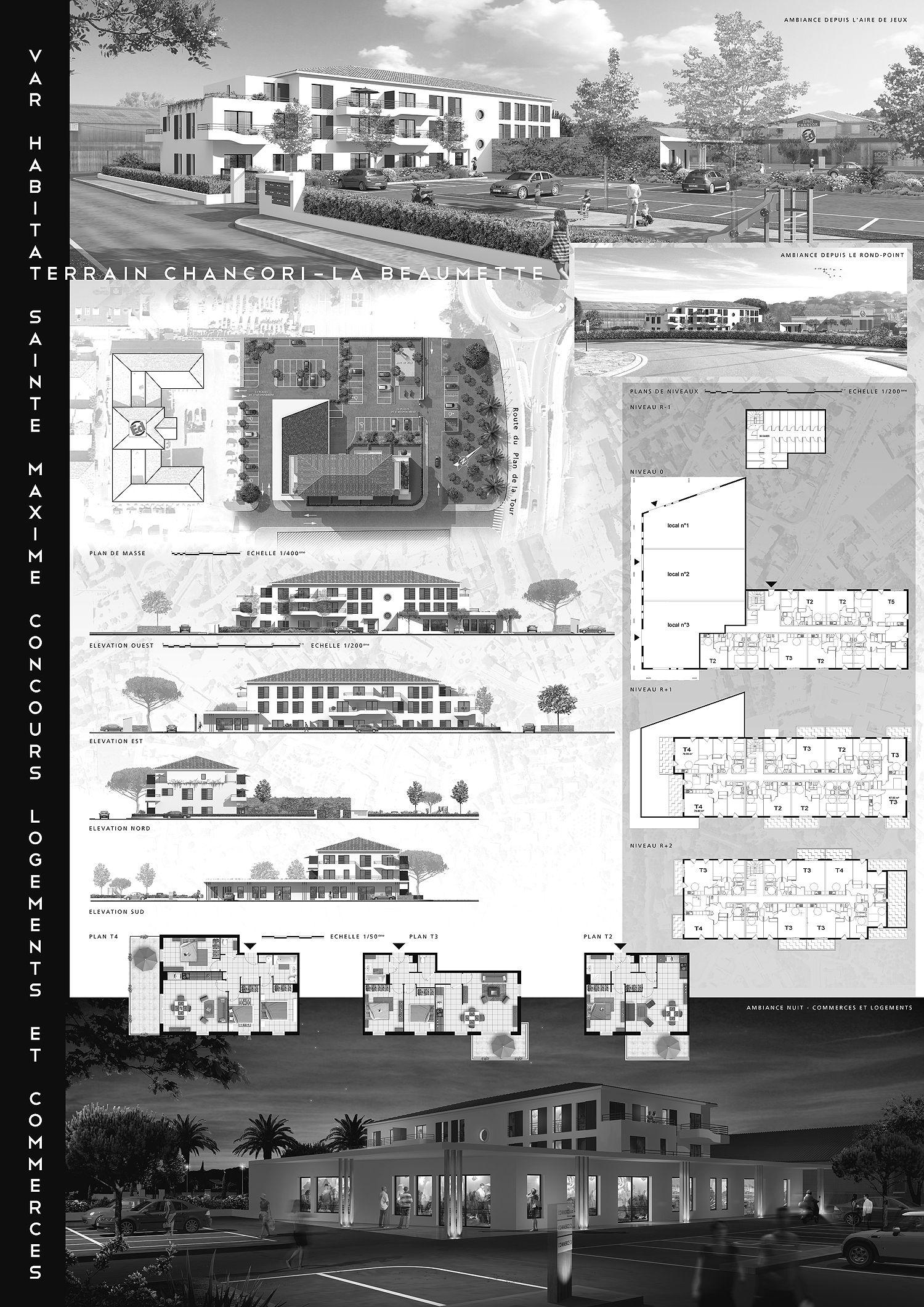 Planche concours 3d architecture attik images projet d 39 architecture p - Planche concours architecture ...