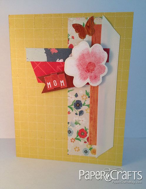 A Visit From Mom Paper Crafts Connection Hand Crafted Cards Cards Handmade Paper Crafts Magazine