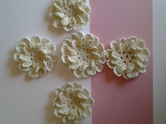 Flower Set / Creaciones Susana - Artesanio