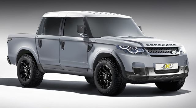 2020 Land Rover Defender Pickup To Arrive Next Year Land Rover