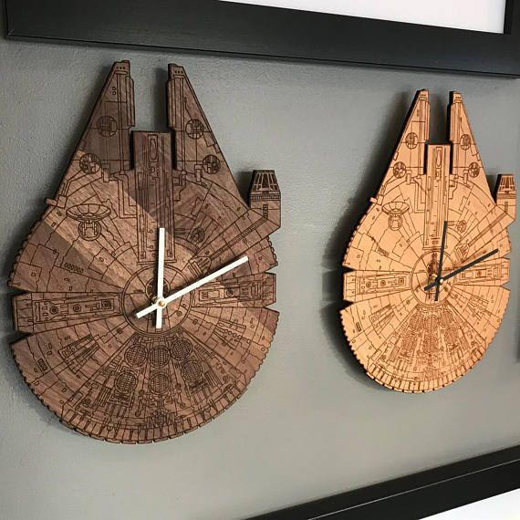 Sie haben noch nie gehört der Millennium Falcon? Es ist das Schiff ...
