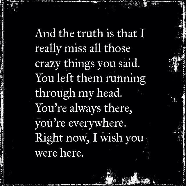 Wish You Were Here Avril Lavigne Musicmusic Quotes Pinterest