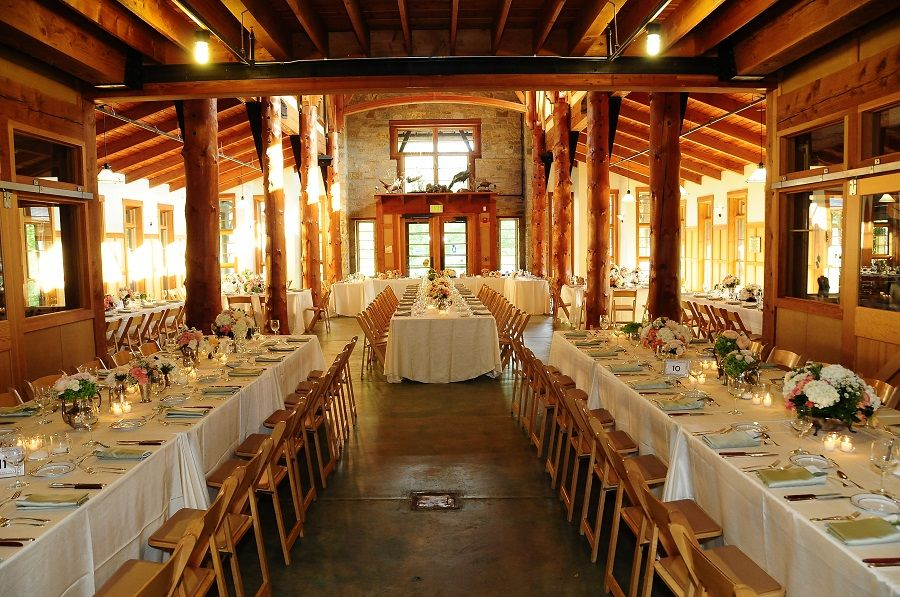 Family Style Wedding Table Layout At The Schlitz Audubon Nature Center Fls By Freshdesign