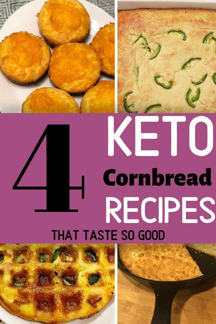 4 Keto Cornbread Recipes That Are So Moist - The K