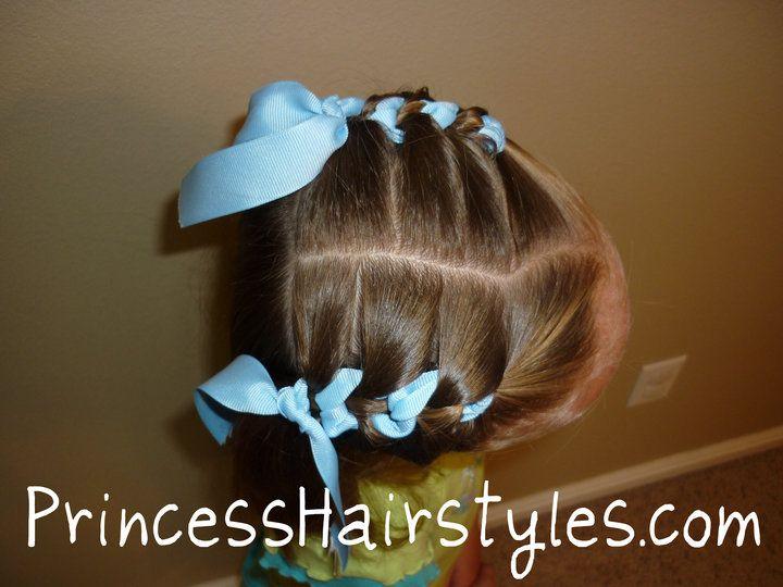 Double Fake Ribbon Braids Video: http://www.princesshairstyles.com/2010/09/fake-french-ribbon-braid-video.html