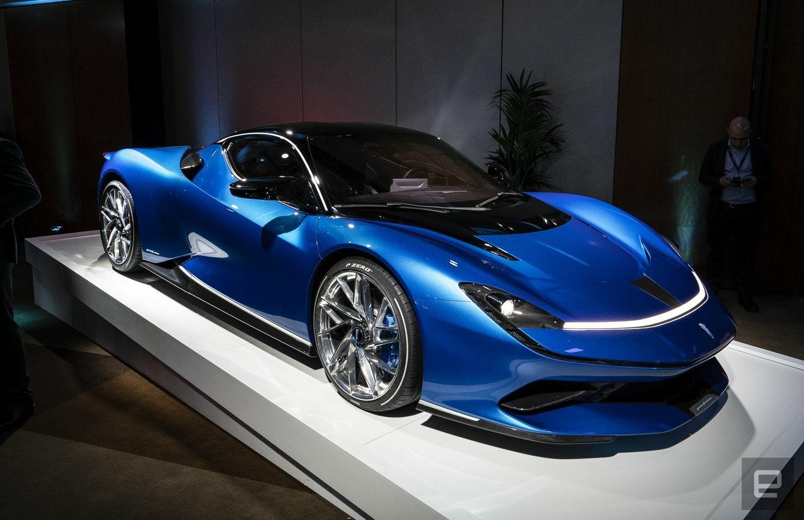 Pininfarina S 1900 Horsepower Battista Will Go Over 217 Mph Horsepower Geneva Motor Show Performance Cars