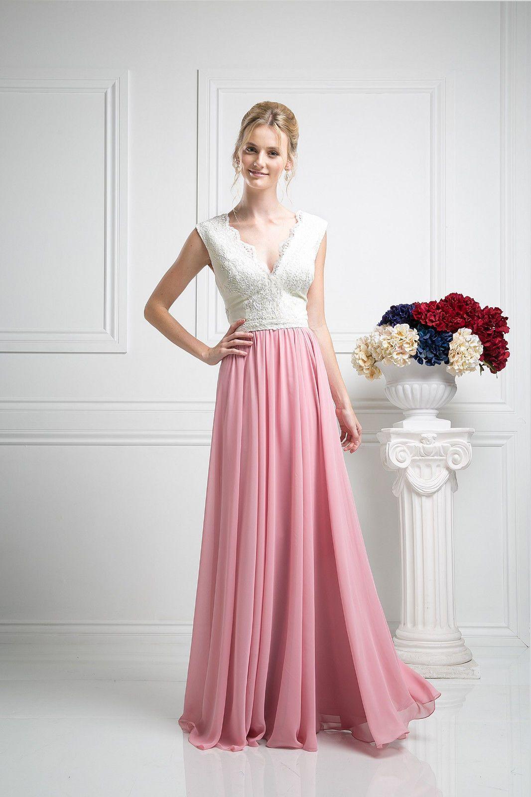 Summer Long Bridesmaids Dress Formal Cocktail Gown
