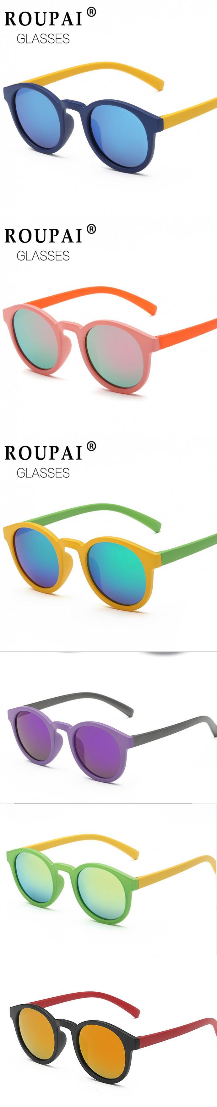 youth oakley eyeglasses eits  Polarized Round Kids Sunglasses Children Sun Glasses Anti-uv Baby Vintage  Eyeglasses Outdoor Cool 7 Color oculos infantil de sol