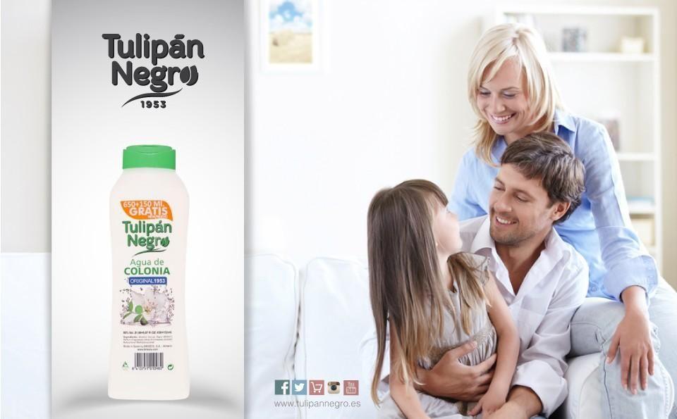 ¿Aún no conoces nuestra agua de colonia Tulipán Negro 1953? ¡Ideal para toda la familia!#TulipanNegro #Almería #colonia #aguadecolonia #aroma #clásico #familiar #since1953