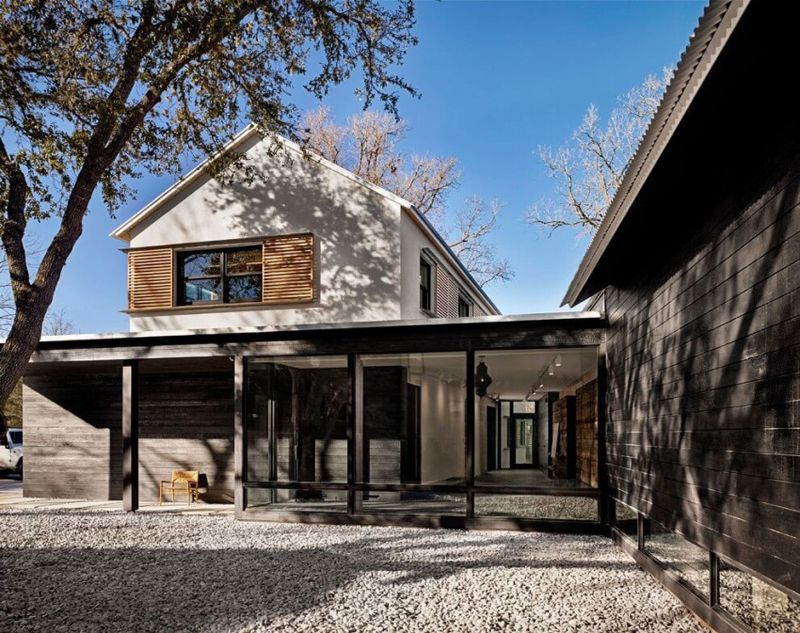 Modern Prefab House By Aamodt / Plumb Architects