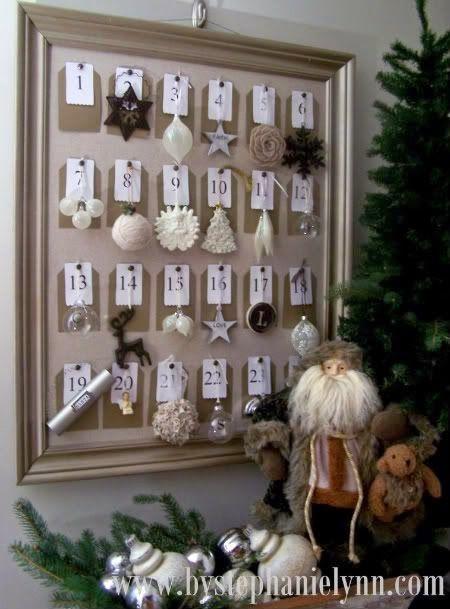 [Natal] Ideias para a contagem do Advento! - Blog Dona Ingrid