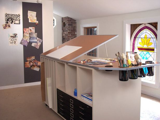 great garage makeovers art studio - Art Studio Design Ideas