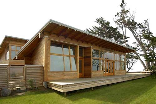 L-Shaped House Design in Oregon Coast by Johnston Architects ...