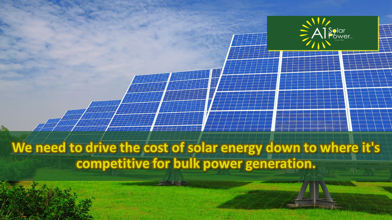 Want To Install Solar Panel On Your Home Read About A1 Solar Power Customer Reviews For Choosing The Best Solar Company An Solar Solar Power Solar Companies