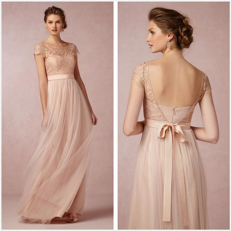 Classical 2015 Tulle Belt Lace Cap Sleeve A-Line Mother of the Bride Dresses Party Dresses from Qing_yuan_dress,$124.61   DHgate.com