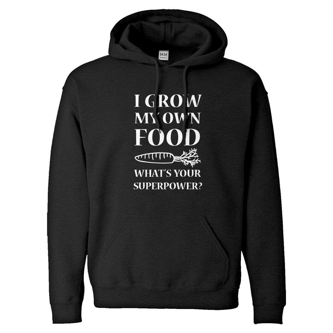 Hoodie I Grow My Own Food Unisex Hooded Sweatshirt