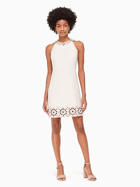 6e1b8f0a788a Kate Spade Mosaic Embellished Shift Dress