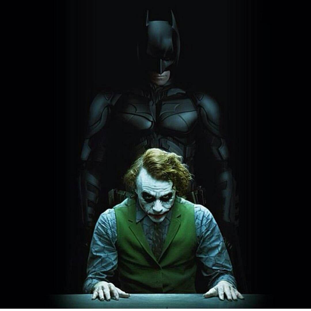 Joker 10 Batman Duvar Kagidi Joker Batman