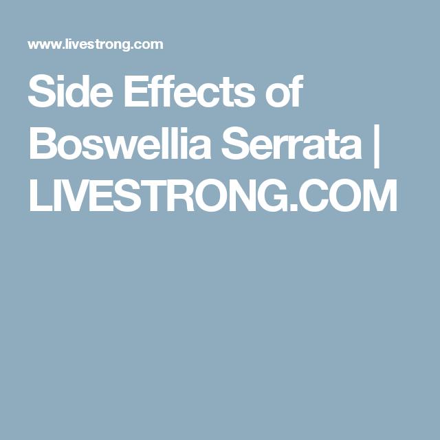 side effects of boswellia serrata, Skeleton