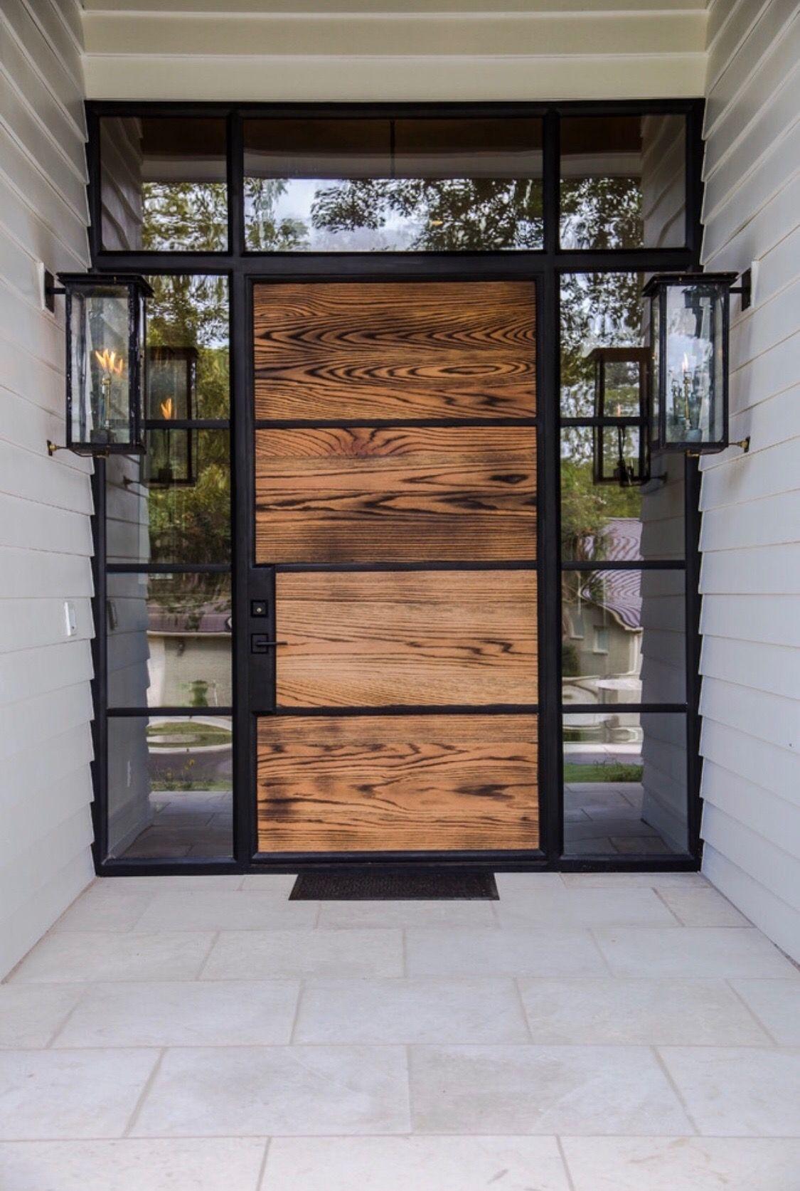 Love This Wooden Door Entrance Door Design House Entrance Door Design