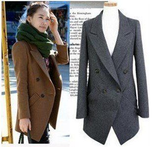 Womens Long Blazer Jacket