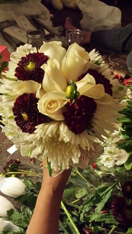 My sister's Wedding Bouquet