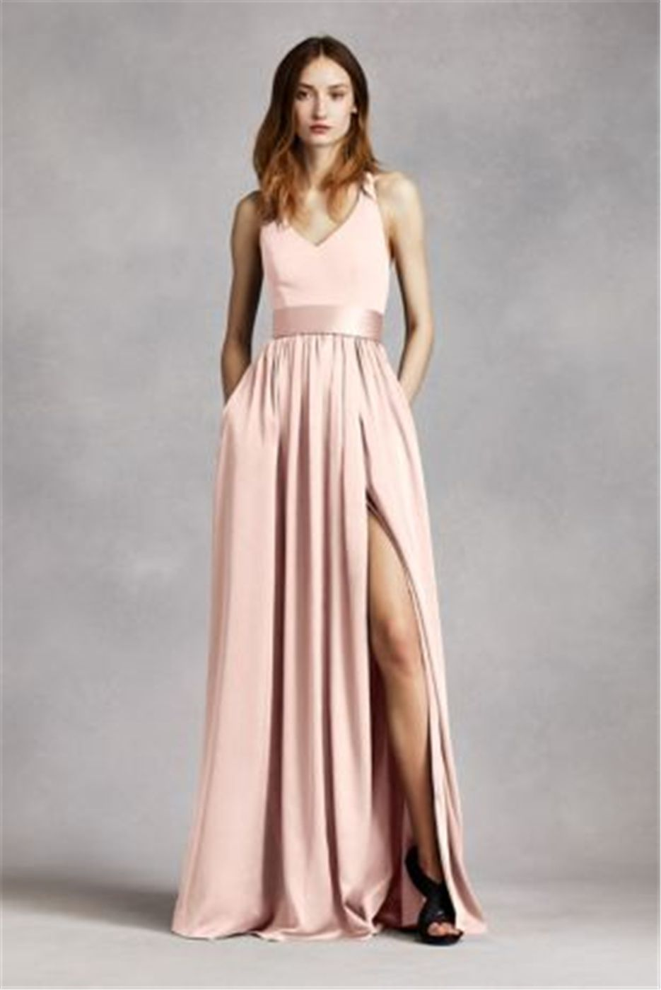 Wedding trends top romantic floor length bridesmaid dresses