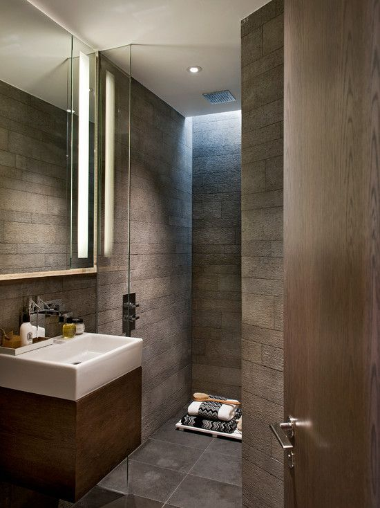 Bathroom Design, Contemporary Bathroom With Fabulous Walk In Shower Design: The Fabulous Walk In Shower Design