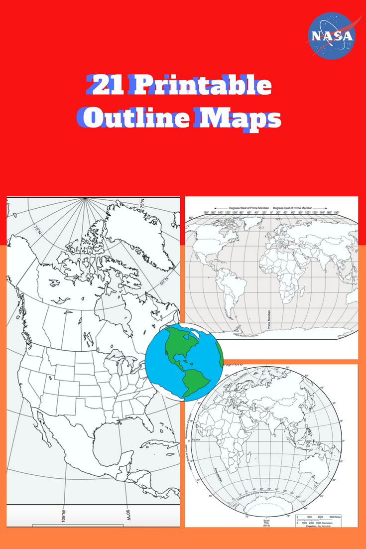Printable Outline Maps Of The World Pdf Download And Print 21