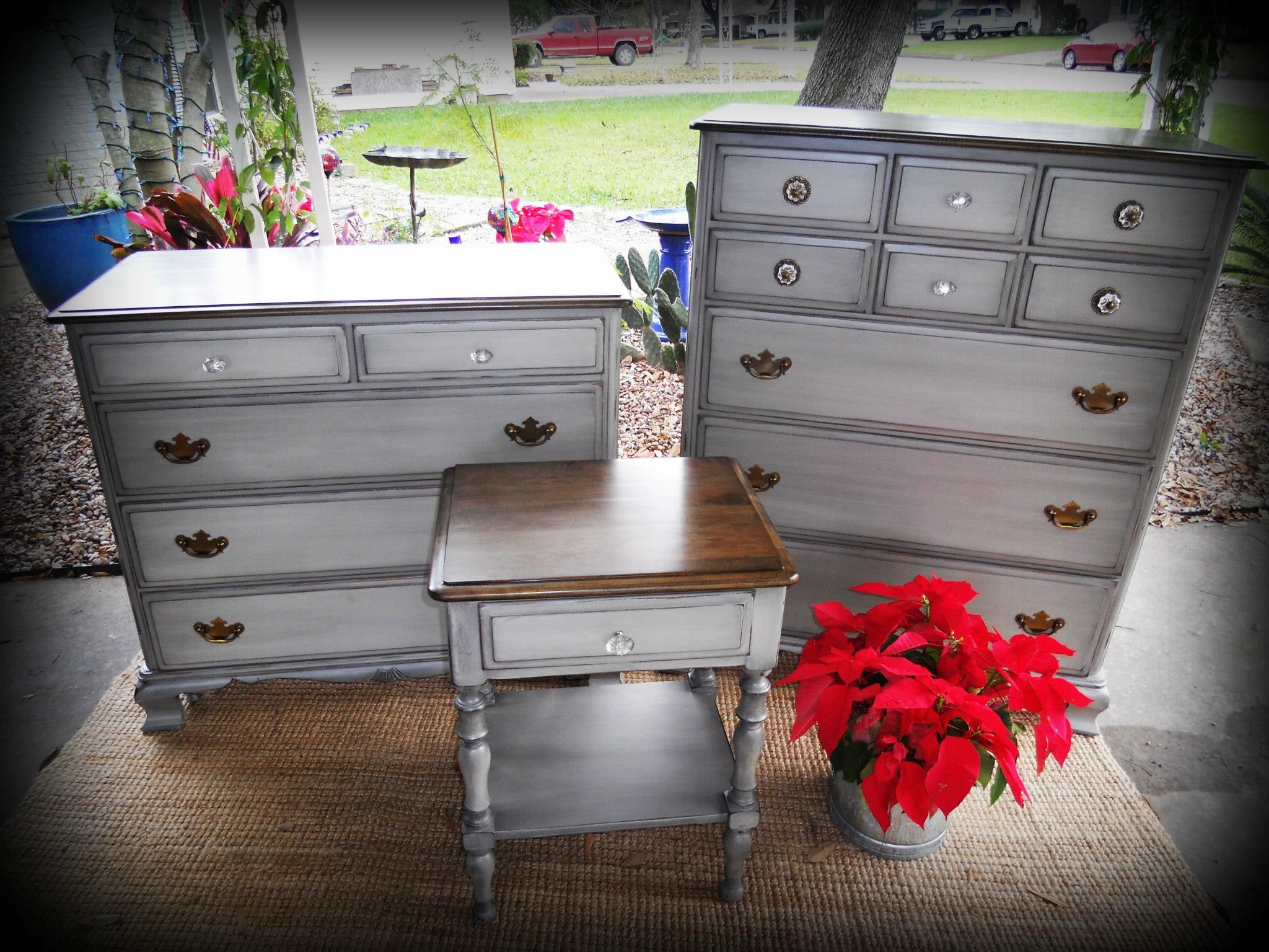Dresser Transformation Grey painted furniture, Annie