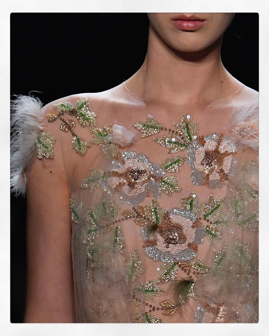 Details from #fw17marchesa!