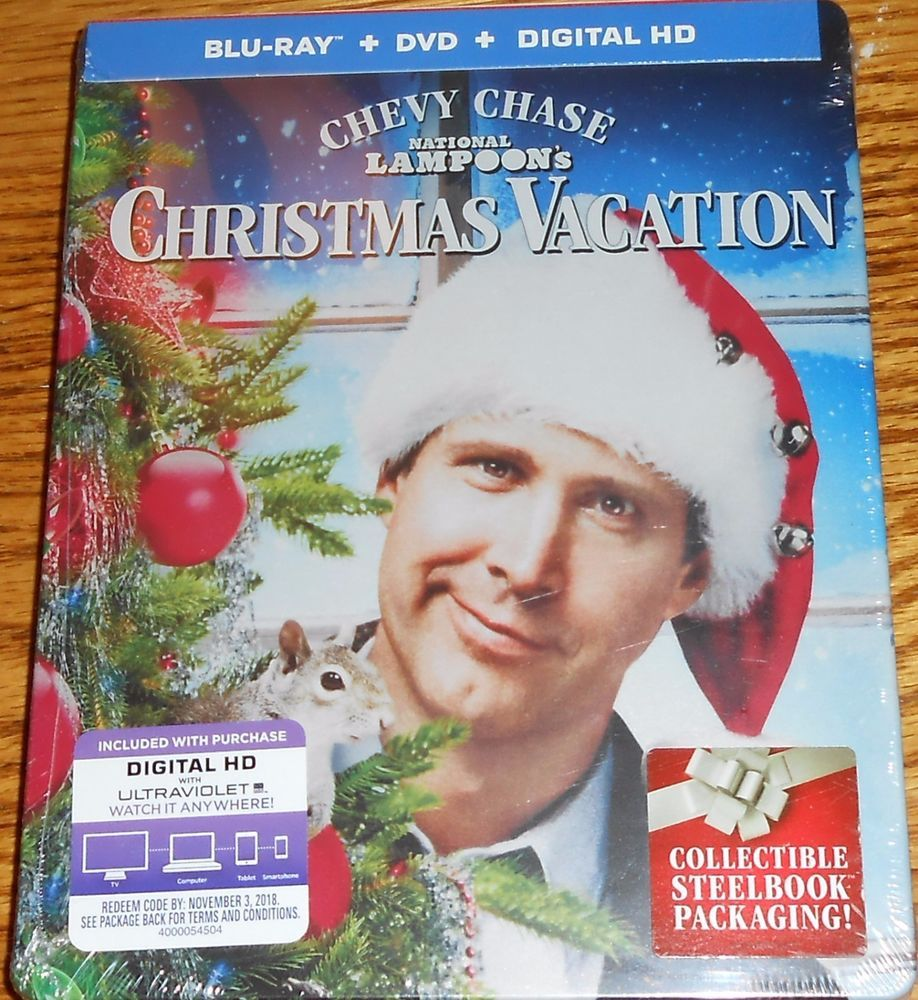 national lampoons christmas vacation blu ray disc 2015 2 disc set steelbook new