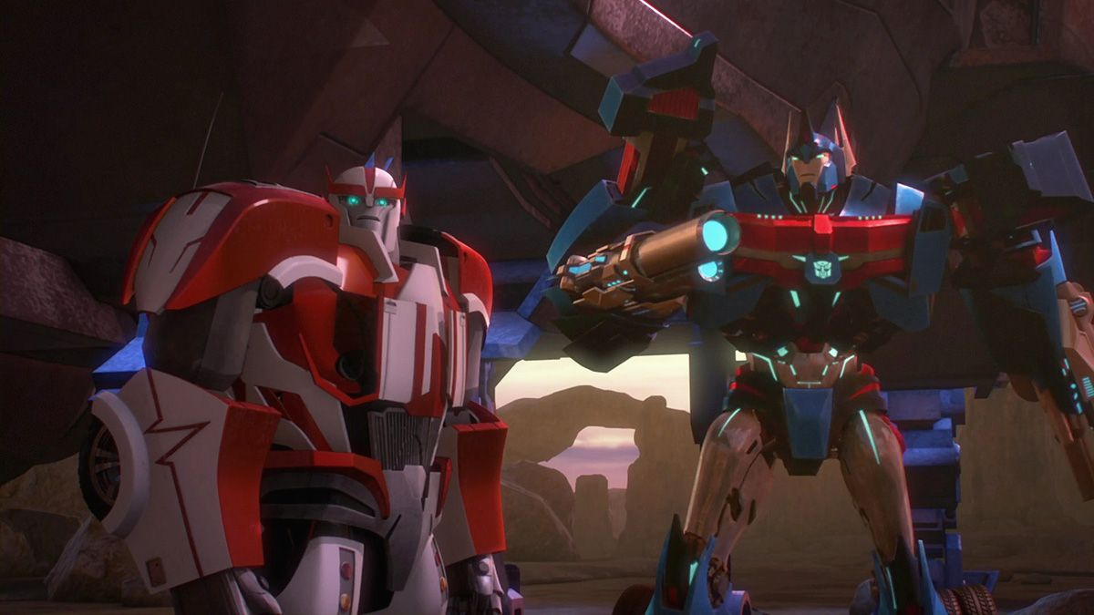 Transformers Prime Beast Hunters S03 E03 Prey  Ratchet and Ultra Magnus.