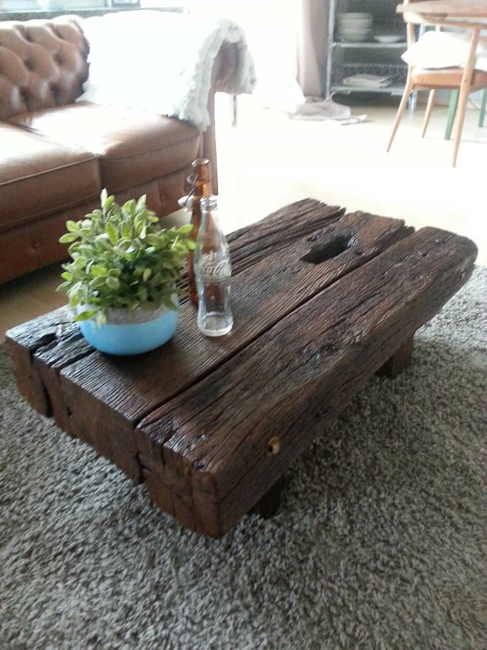 Homify Saloncanapes Tables Basses Homify Rustic Wood Furniture Coffee Table Wood Coffee Table [ 1307 x 980 Pixel ]