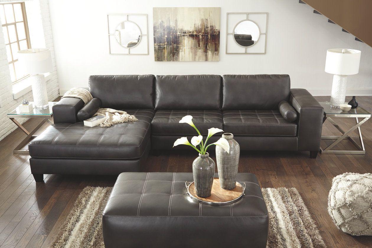 Nokomis 2 Piece Sectional Ashley Furniture Homestore Leather