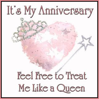 happy anniversary to me and my husband