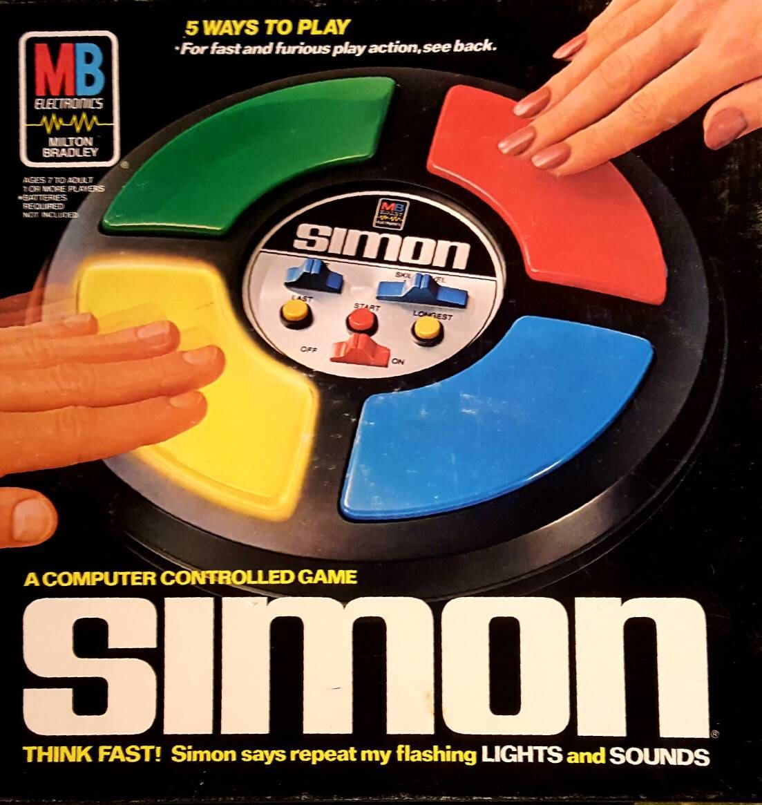 VINTAGE SIMON Game, 1978 Electronic Game, Retro Computer