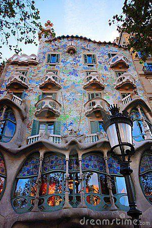 Gaudi , Barcelona, Spain