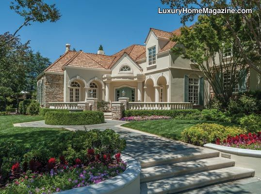 Beautiful Home Surrounded By Beautiful Gardens In Los Altos Hills