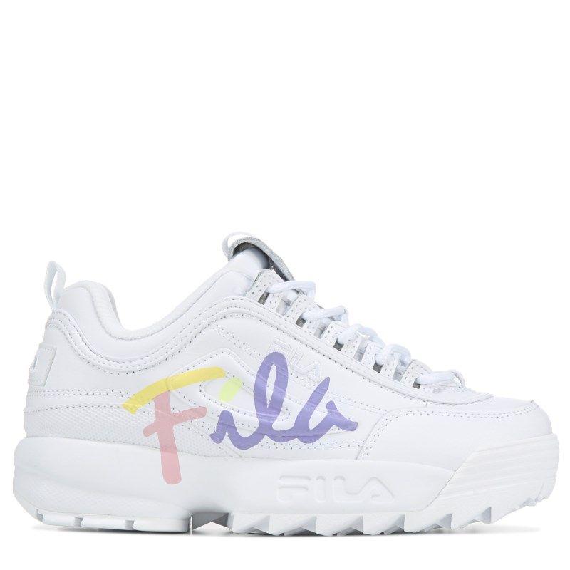 Fila Kids' Disruptor Premium 2 Sneaker