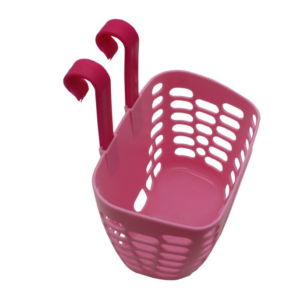 CHILDHOOD Children/'s Bicycle Basket  Pink Bike Basket for Girls Kidspink