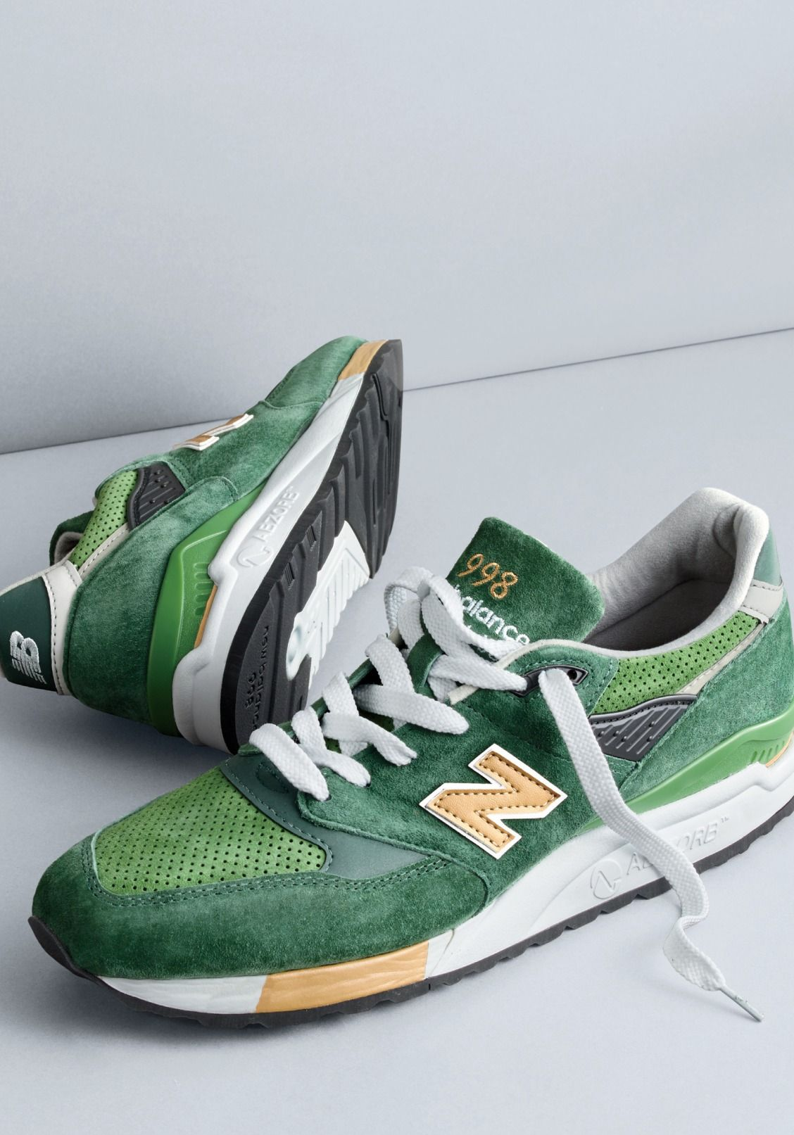 963aa05ea72b7 Only found here. New Balance® for J.Crew 998 Greenback sneaker ...