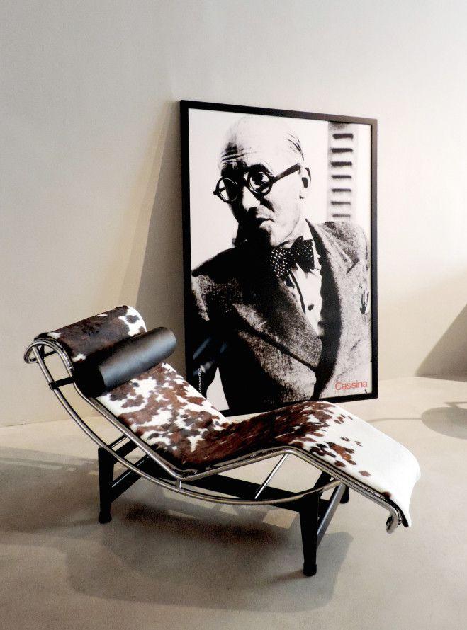 Charlotte Perriand & Le Corbusier: la 'chaise-longue' LC4. Imagen: Cassina Barcelona