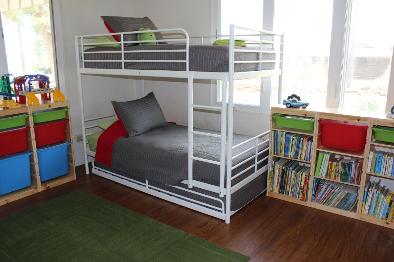 Best How To Fit 6 Kids In One Room On A Budget Ikea Metal Bunk Bed Metal Bunk Beds Bunk Beds For Sale 640 x 480