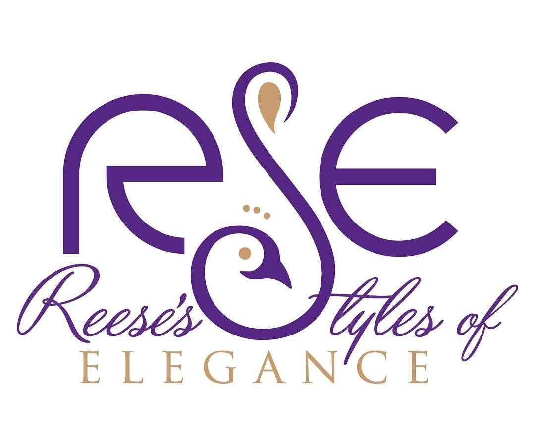 How beautiful this #logo is. Shout out again to Darnell Loper for a wonderful job.  So #elegant #peacockjunkie #reesethepeacockstylist @reesestylesofelegance @reesepeacockstylist