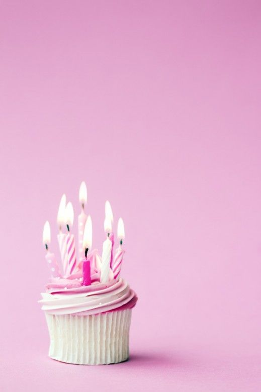 Happy Birthday Cupcakes With Candles Cute Images Happy Birthday Cupcakes New Birthday Cake Birthday Candles
