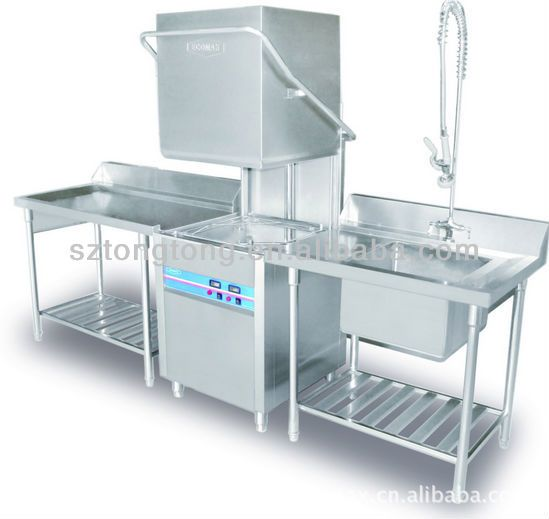 Commercial Dishwasher Kitchen Equipment Used Commercial Dishwasher For Sale 740 750 1400mm Commercial Kitchen Appliances Commercial Kitchen Restaurant Kitchen