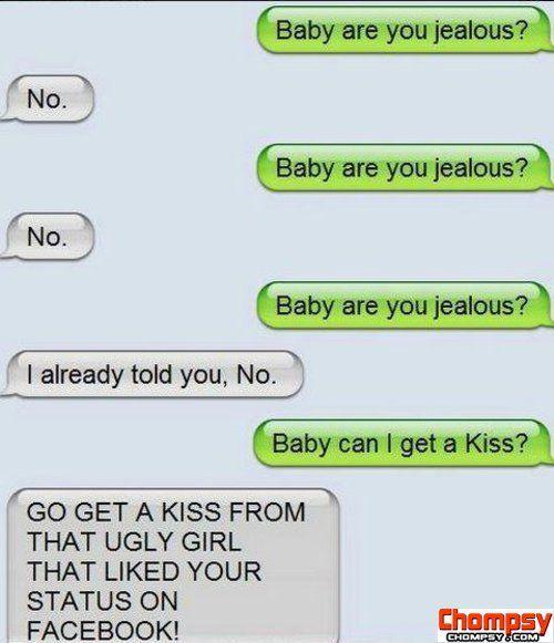 Text message jealous girlfriend lol hillarious pinterest text message jealous girlfriend lol m4hsunfo