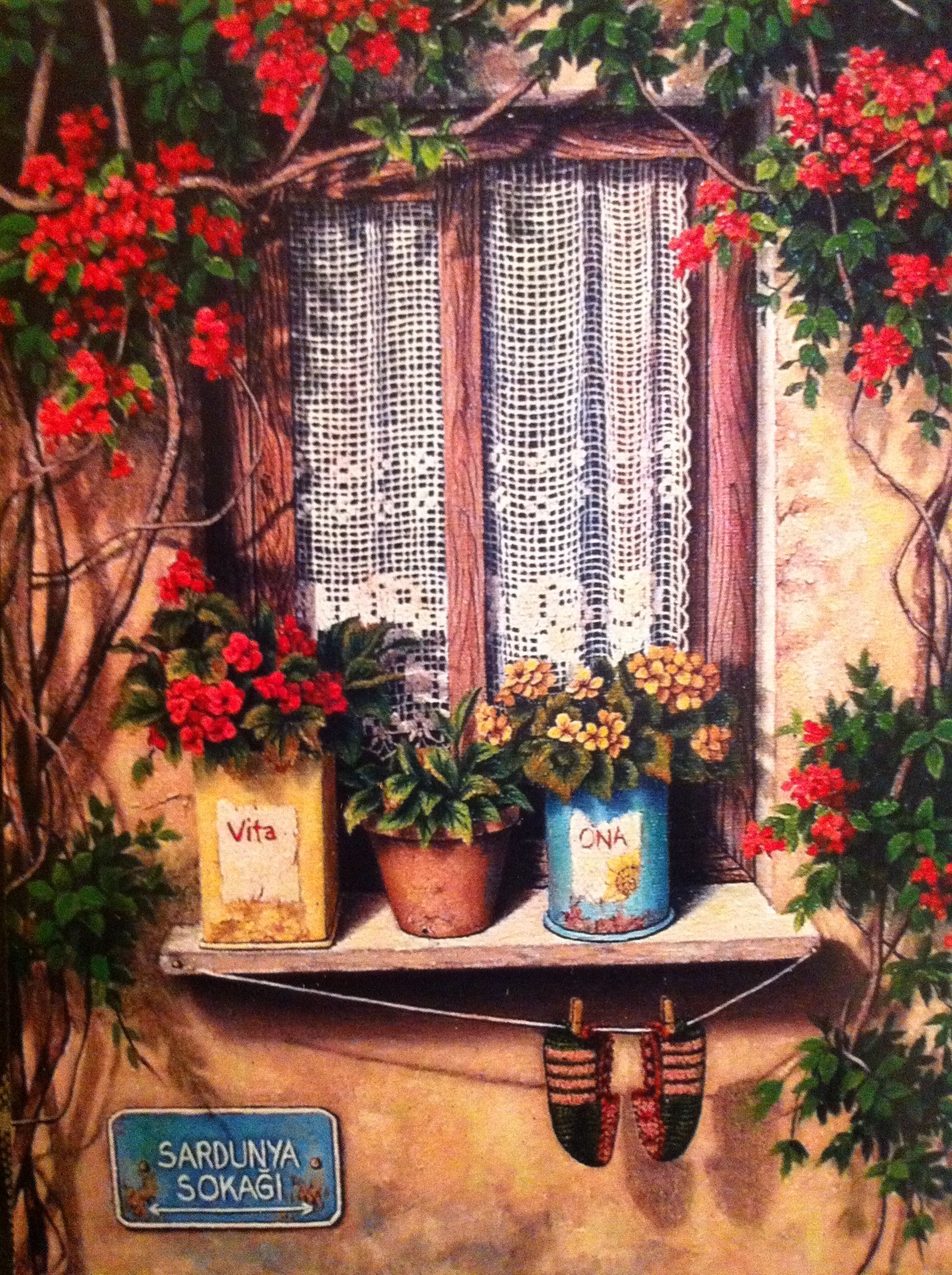 Old Windows Oil Painting Http Lomets Com Window Art Oil Painting Painting