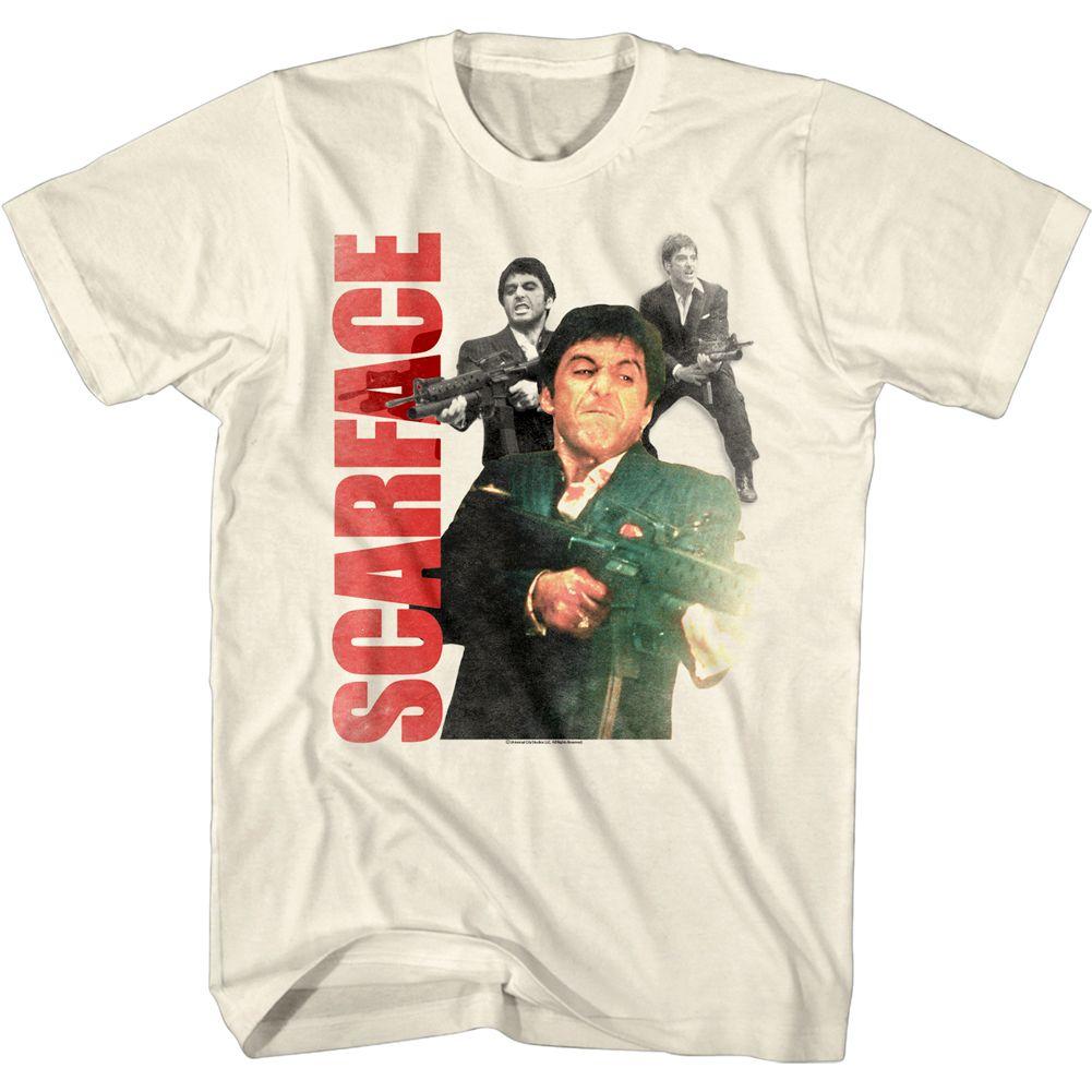 Scarface Tony Montana World is Yours Men/'s T Shirt Big Gun Pacino Gangster Movie